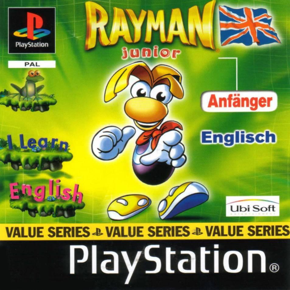 Rayman Junior - English PSX cover