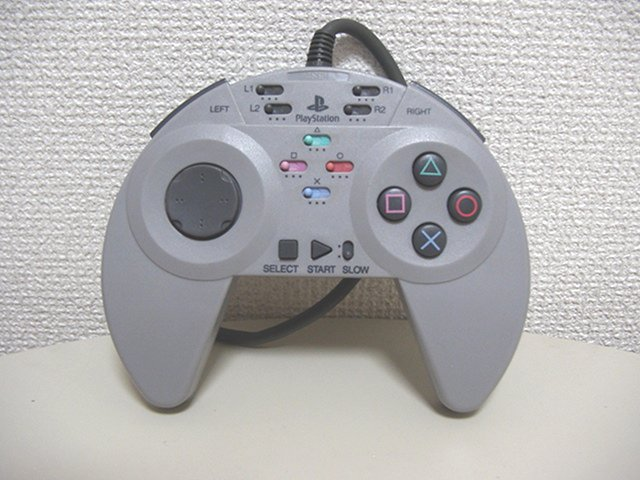 PlayStation DataCenter - PSX One Controllers