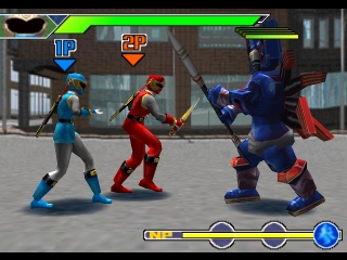 Power Rangers Ninja Storm Ps1