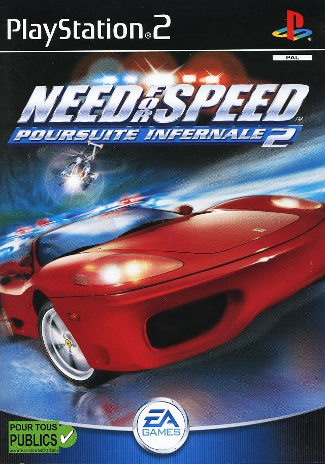 Need For Speed Hot Pursuit 2 Pal Front