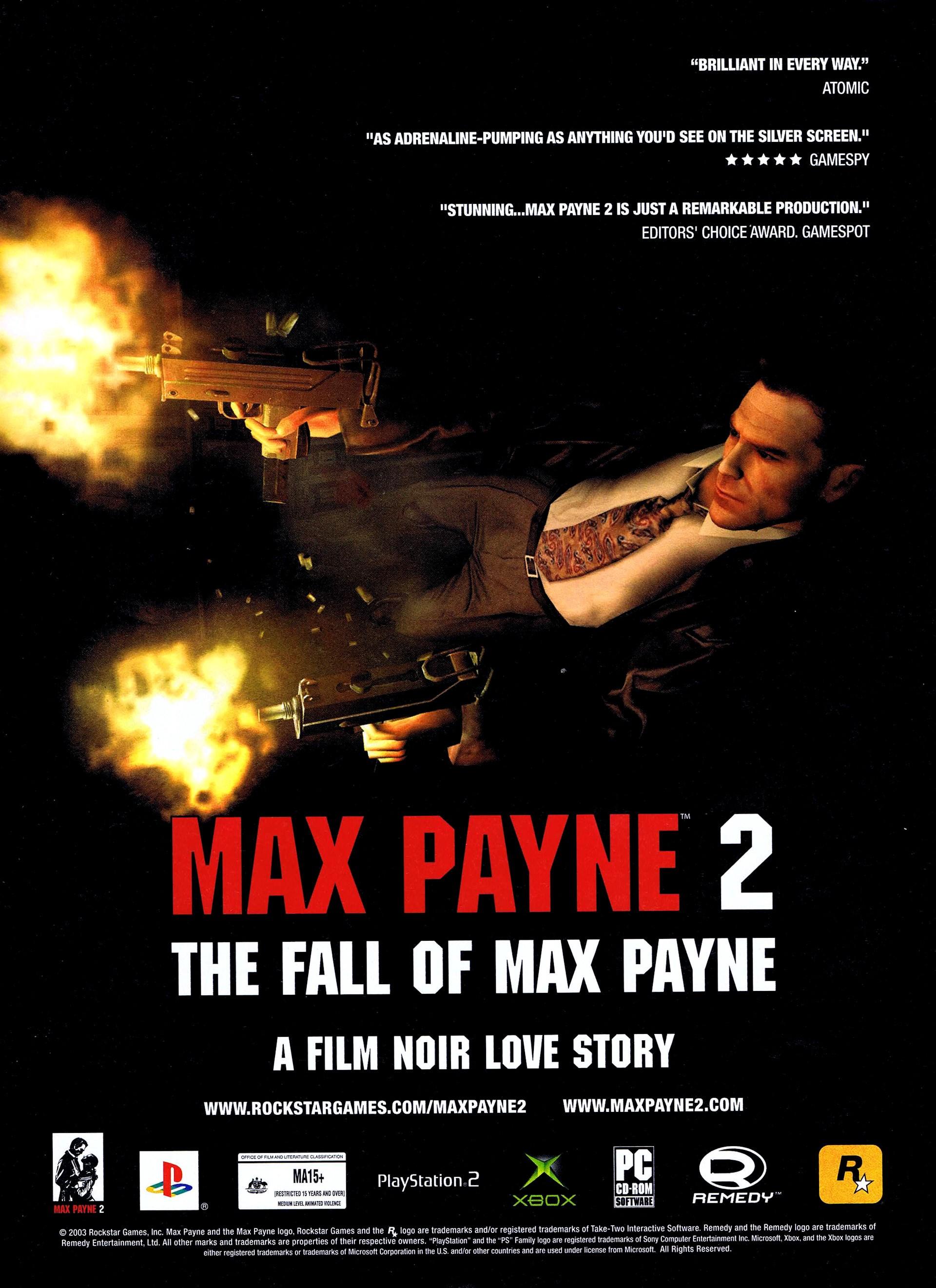 Max Payne 2 Pal European Advert Alternate