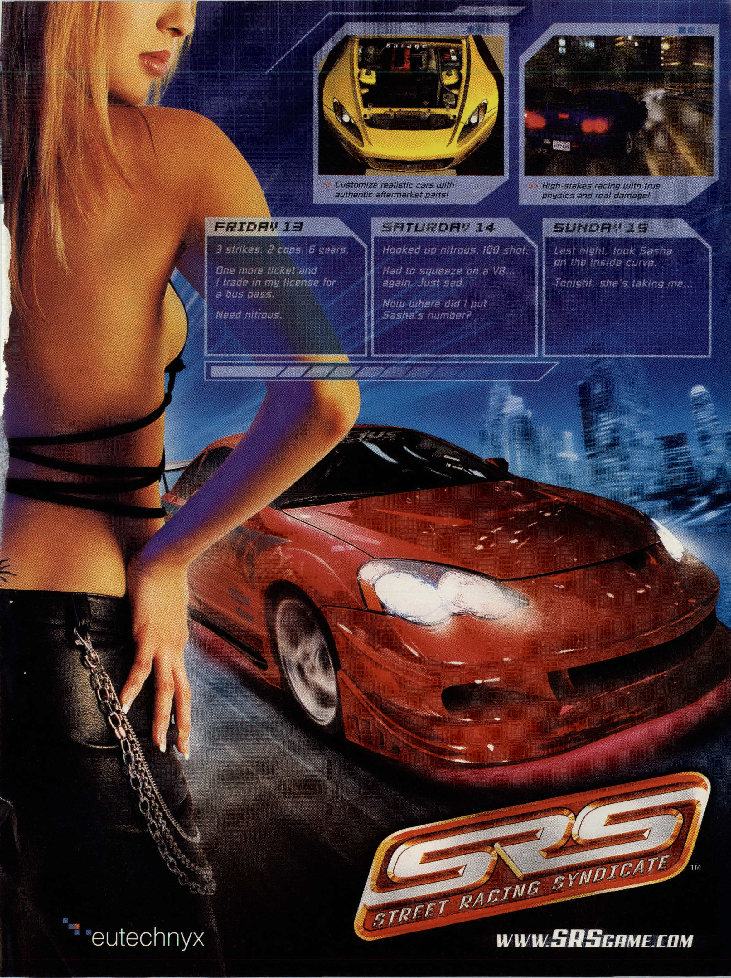Street Racing Syndicate hook up siti di incontri PayPal