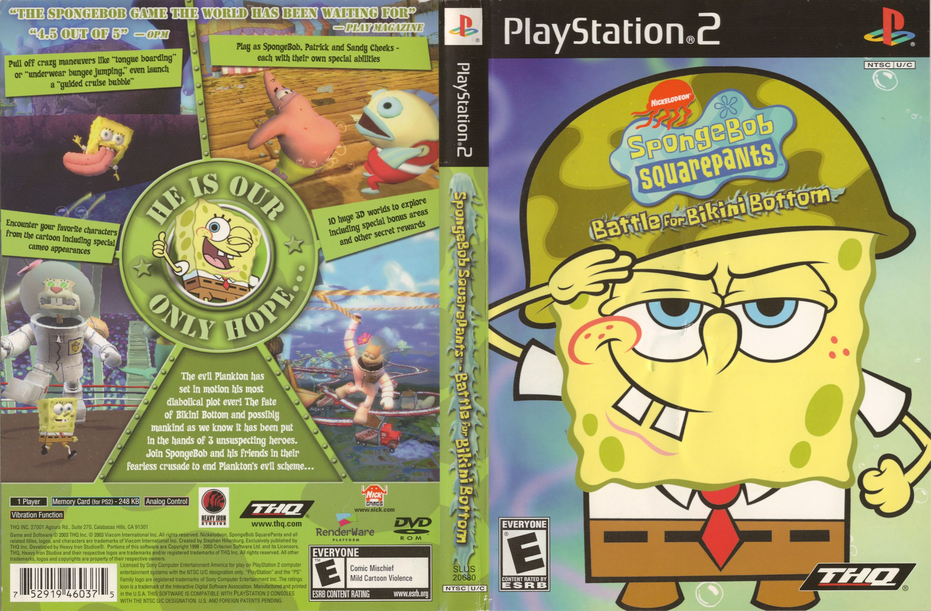 Scandal! Battle bikini bottom cheat ps2 spongebob squarepants