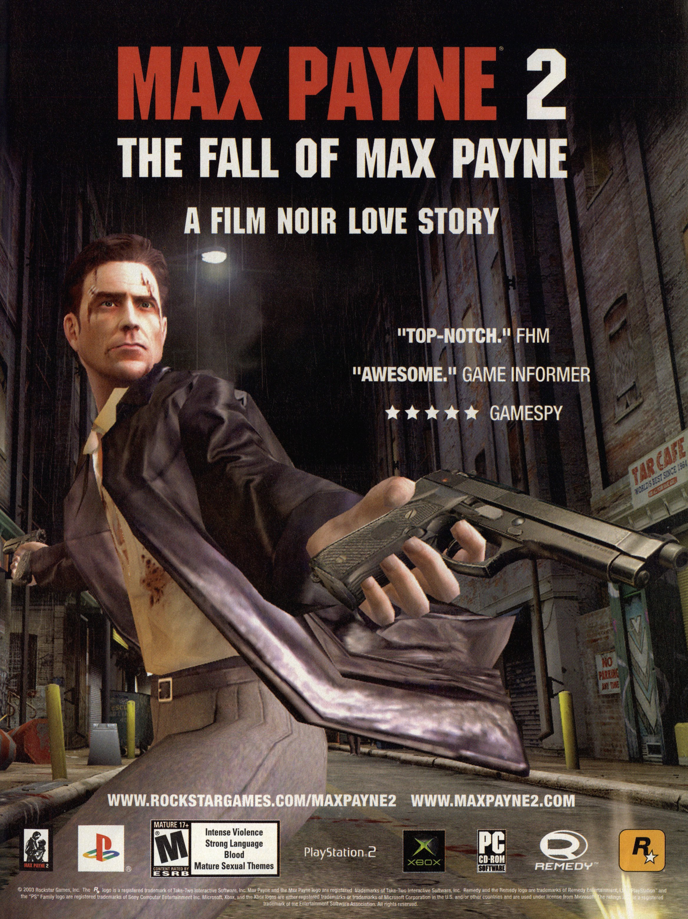 Max Payne 2 Ntsc U Usa Advert
