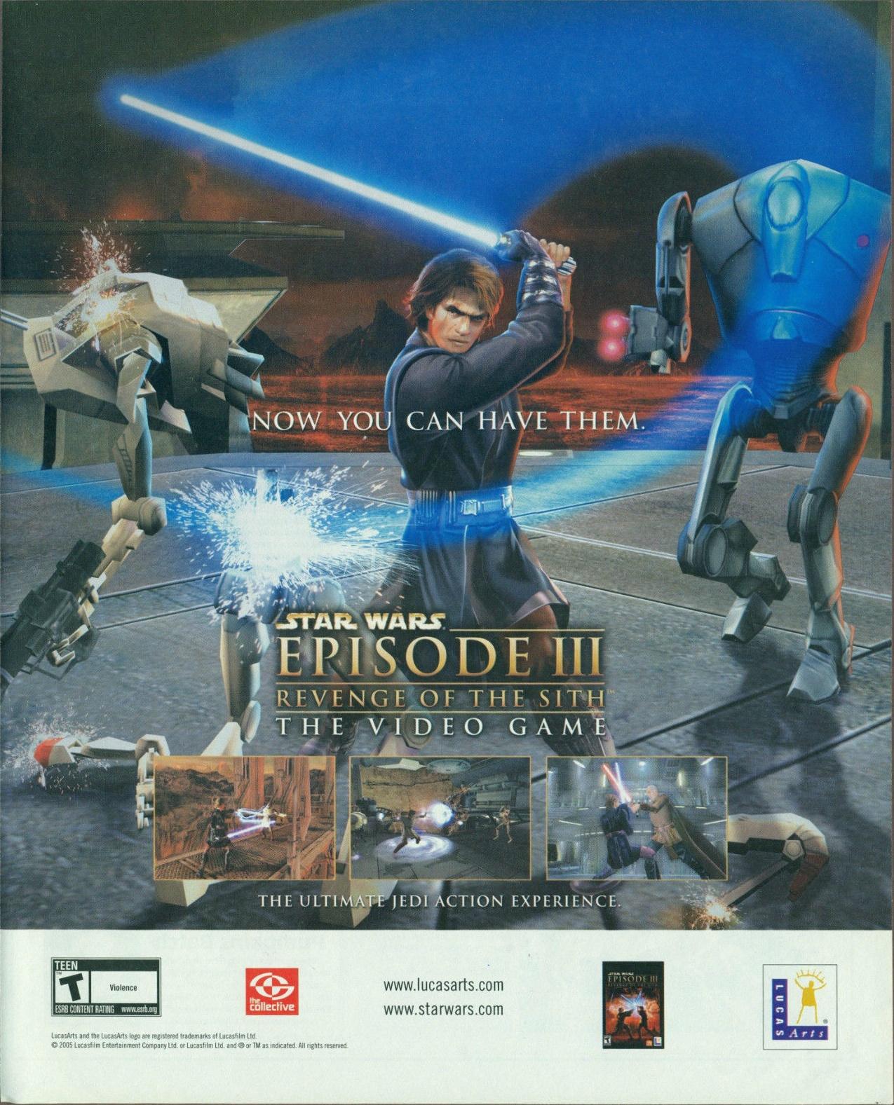 Star Wars Episode Iii Revenge Of The Sith Ntsc U Usa Advert Alternate 1
