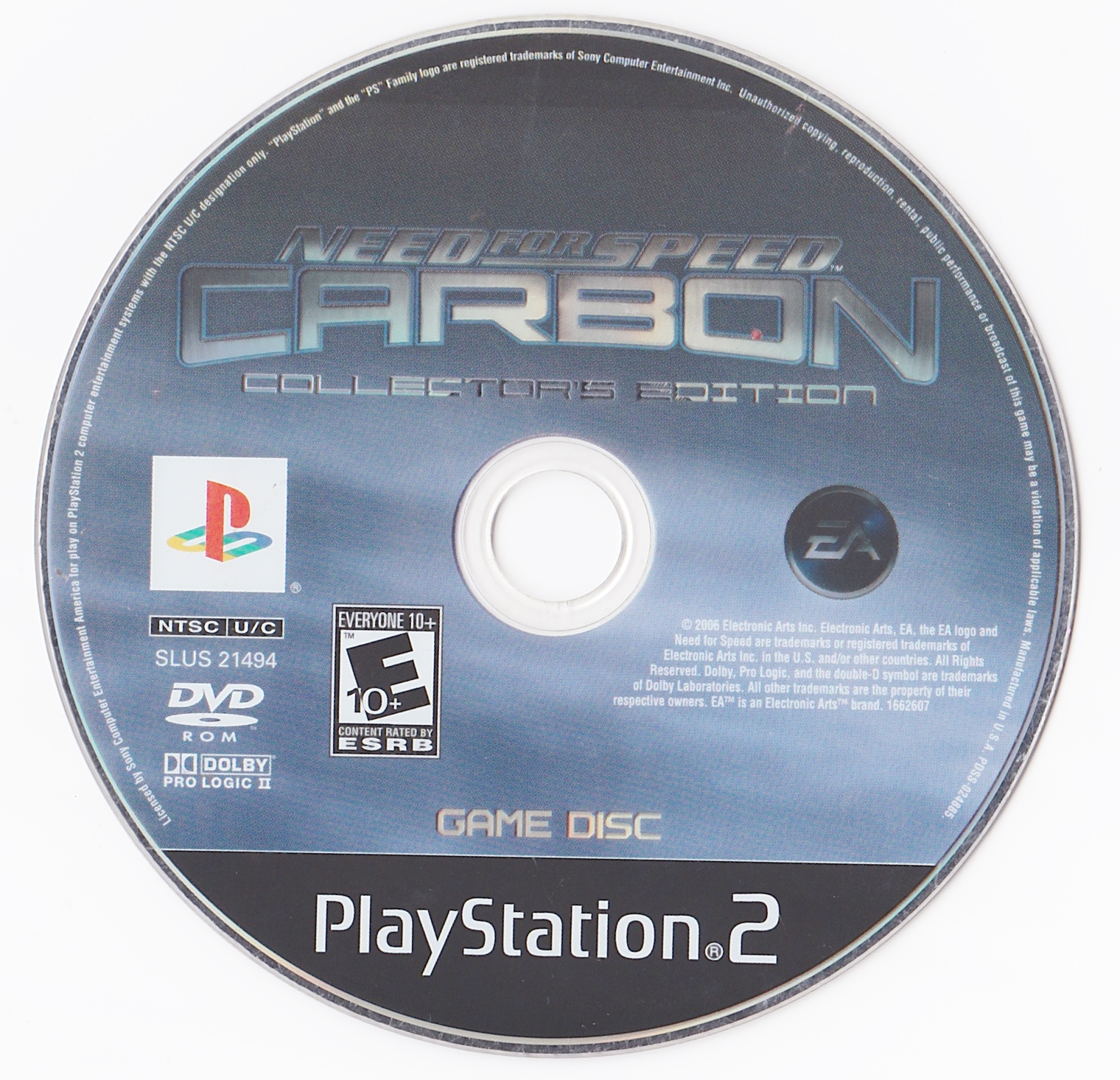 Need For Speed Carbon Collector S Edition Ntsc U Disc